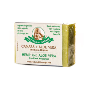 Hemp Soap with Aloe Vera
