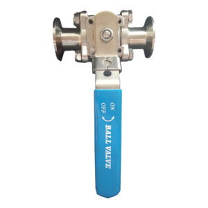 1″ Tri Clamp Ball Valve