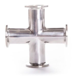 Stainless Steel 4 Way Connector
